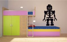 oh joy - a huge lego vinyl wall sticker - someone is going to be happy!