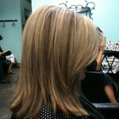 Bright blonde bolder look layeredcut | Yelp