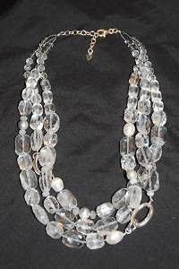 Perfect with an evening gown & matches Foundation earrings