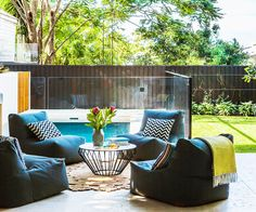 A Cosy Outdoor Setting Encourages A Sense Of Togetherness At Home, Even If  Youu0027