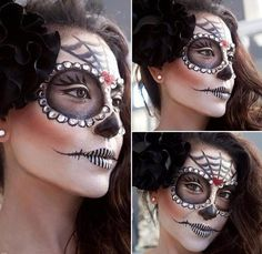 #Halloween is only 2 days away! Does everyone have their #costume ready? Stunning #sugarskull #makeup still trending on @Bloom.com