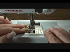 Edge stitching an Inchie Quilt.  5 min video.