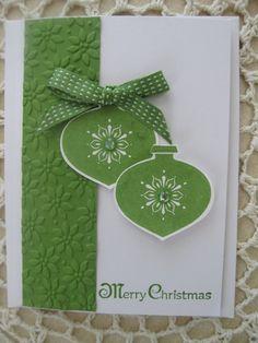 Stampin Up Handmade Greeting Card-Christmas via Etsy