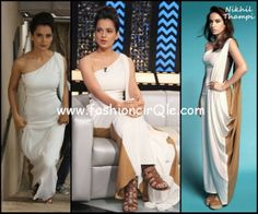 Can be purchased here: http://www.perniaspopupshop.com/designers-1/nikhil-thampi/nikhil-thampi-black-and-white-side-cowled-gown-nktc081302.html