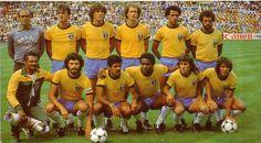 Seleção Brasileira  Time  fantástico -  Copa do Mundo de 1982!!!.