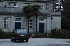 Range Rover in British Embassy Japan