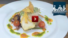 Roast Cod recipe with cream cheese and herb glaze on roasted new potatoes by professional chef Chris Couborough  #cod #fish #dinner #recipes #chefs #food #cheese #creamcheese #potatoes