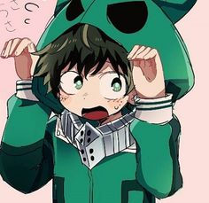 Izuku Midoriya, son of All for One and Inko Midoriya an assassin for … My Hero Academia Memes, Hero Academia Characters, Buko No Hero Academia, My Hero Academia Manga, Anime Characters, Anime Love, Anime Guys, Deku Anime, Tsurezure Children