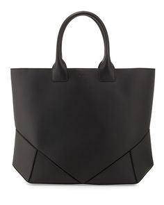 Napa Stitched Easy Tote Bag, Black by Givenchy at Bergdorf Goodman.