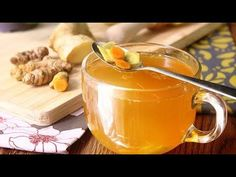 ✿ Veganlovlie Recipes / Turmeric Tea with Ginger & Lemon : Something a little different this time — a recipe with some musings. Brewed with turmeric and ging. Weight Loss Drinks, Weight Loss Smoothies, Lemon Detox Cleanse, Anti Inflammatory Drink, Turmeric Tea, Healthy Detox, Water Recipes, Detox Drinks, How To Lose Weight Fast