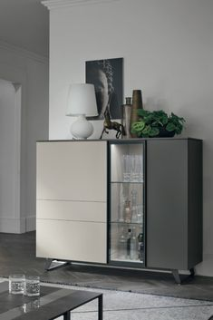 Metropolis Sideboard by Tomasella Home Living Room, Interior Design Living Room, Living Room Furniture, Living Room Decor, Sideboard Furniture, Cuisines Design, Buffets, Dining Room Design, Bars For Home