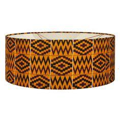 Lampenschirm mit Stoff Bunt, Fancy, Inspiration, Home Decor, African Textiles, Cotton Fabric, Homemade Home Decor, Biblical Inspiration, Decoration Home
