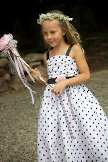 DIY Flower Girl Wands