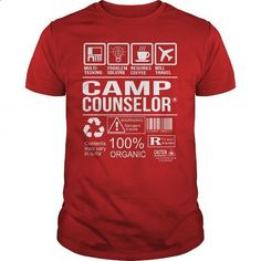 Awesome Tee For Camp Counselor - #cool t shirts #shirt designs. GET YOURS => https://www.sunfrog.com/LifeStyle/Awesome-Tee-For-Camp-Counselor-103318595-Red-Guys.html?60505