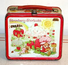 Strawberry Shortcake Metal Lunch Box