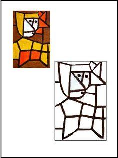 Hoy os dejamos algunas de las fichas que hemos preparado para trabajar a Paul Klee. Esperamos que os gusten.