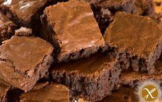 Schokoladen Fudge Brownies Glutenfrei
