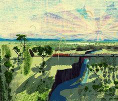 成り行きに任せて描いた絵の最終形#illustration #painting #tatsurokiuchi #art #drawing #life #lifestyle #happy #japan #people #木内達朗 #イラスト #イラストレーション