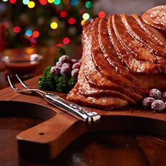 Cranberry-Glazed Spiral Ham