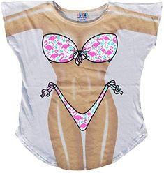 Summer Swimwear, Bikini Swimwear, Sexy Bikini, Bikini Shirt, Great Halloween Costumes, Turu, Bathing Suit Covers, Bikini Cover Up, Cute Tshirts