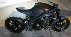The Triumph Speed Racer | Motorcycle | Car