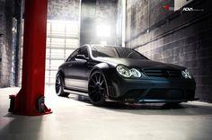 Mercedes-Benz CLK 63 AMG Black Series on ADV.1 Wheels