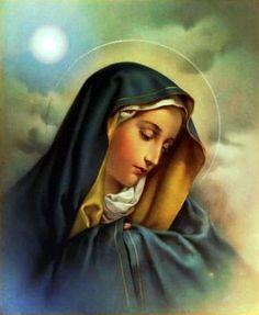 ¡Oh María, Virgen Soberana, gloria de los justos, Hija humildísima del Padre, Madre Purísima del Hijo, esposa amadísimadel Espíritu Santo!  Yo te amo y te ofrezco todo mi ser para que lo bendigas; María,llena de bondad y clemencia, me acerco a ti y te invoco en estas horas de amargura para implorar tus favores. Madre admirable, Madre de la divina gracia, verdadero consuelo del que llora, abogada dulcísima de los pecadores, presencia de Dios constante, ten piedad de todos aquellos a…