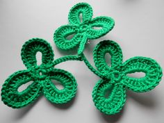 St Patrick's Day Shamrocks by KatiCrafts
