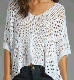 blusa lenço