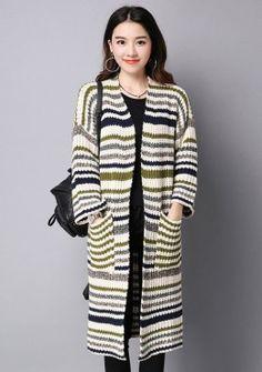 Buy Knitted Long Cardigan   mysallyfashion.com Malaysia   Cardigan ...