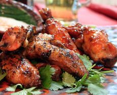Orange Chipotle Chicken Wings | Lifestyle - ChefLala.com