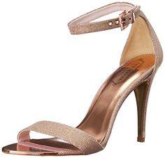 Ted Baker Women's Caitte Dress Sandal, Light Pink/Metallic, 10 M US Ted Baker http://www.amazon.com/dp/B00QM5611E/ref=cm_sw_r_pi_dp_hZ.ywb03Y94XN