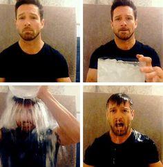 Ian Bohen - ALS ice bucket challenge