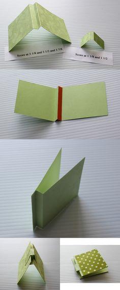 Candi O Designs: Note Pad Tutorial