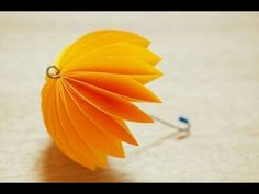 DIY Paper crafts for Kids - How to Make Beautiful Umbrella + Tutorial . - YouTube