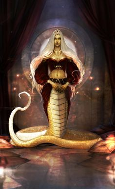 Tah'Isis Hiss by Ana-Rone on DeviantArt Fantasy Kunst, Fantasy Rpg, Dark Fantasy Art, Fantasy Girl, Fantasy Artwork, Fantasy Monster, Monster Art, Mythological Creatures, Mythical Creatures