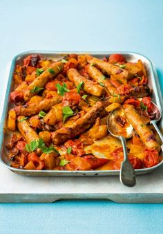 Spicy Caribbean Sausages as seen in Woman Magazine