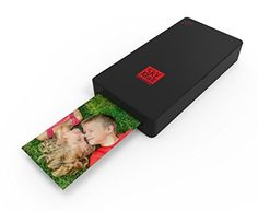 Introducing SkyMall Mobile WiFi  NFC Photo Printer with Dye Sublimation Printing Technology  Photo Preservation Overcoat Layer Black. Great product and follow us for more updates!