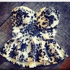 Resultado de imagen para blusa tipo corset