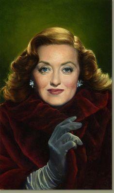 Bette Davis by Michael J. Deas