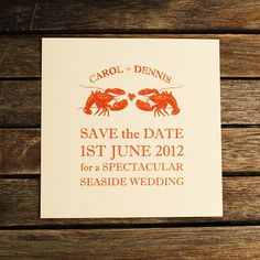 my next wedding will definitely have a lobster theme!