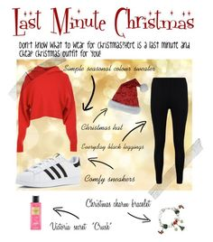 """""""Last Minute Christmas Ideas"""" by zozo160901 on Polyvore featuring TIBI, Boohoo, adidas and Victoria's Secret"""