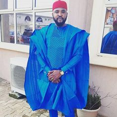 Bidemi African agbada set, matching shirt and pant/African clothing / African men clothing / wedding suit/groom suit/dashiki African Male Suits, African Dresses Men, African Shirts, African Men Fashion, African Attire, African Wear, Mens Fashion, Agbada Styles, Club Outfits