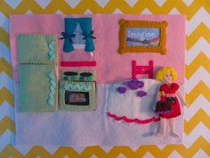 Quiet Book Dollhouse - Kitchen Page
