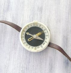 Vintage Soviet  wrist compass Compass for by GeorgiVintage on Etsy, $23.00