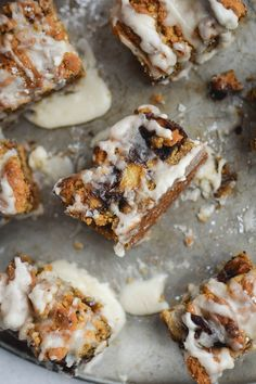 Cinnamon Apple Graham Cracker Crumb Bars