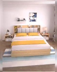 Wardrobe Design Bedroom, Room Design Bedroom, Bedroom Furniture Design, Home Room Design, Bed Furniture, Bedroom Decor, Bedroom Kids, Bedroom Wall, Bed Designs With Storage