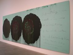 Cy Twombly, The Rose, 2008
