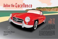 Art Deco Mercedes-Benz Ads