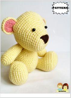 AMIGURUMI PATTERN : Mr.Teddy